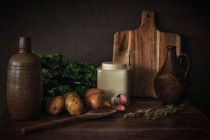 In the kitchen.. van Petra Vastenburg