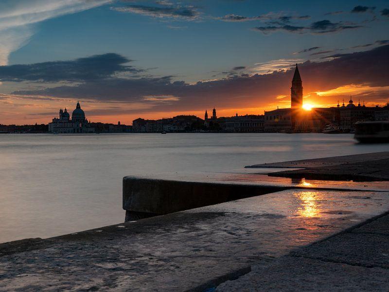 Sonnenuntergang in Venedig von Andreas Müller
