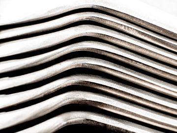 Abstrakte Fotografie Gekrümmte Linien von Art By Dominic