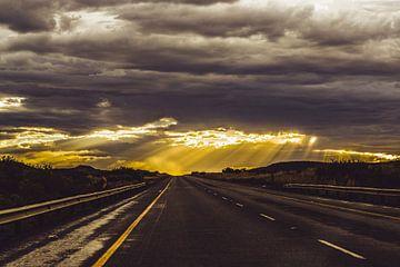Empty Roads pt1 van Senten-Images Carlo Senten