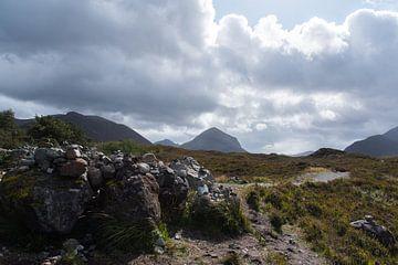 Schotse Hooglanden nabij Eilean Donan van Cilia Brandts