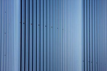 Cylinder silos van Jan Brons
