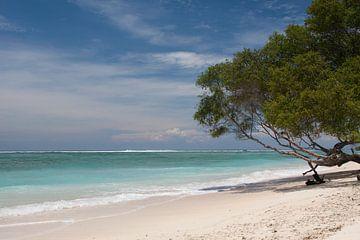 Gili Trawangan beach lombok 1 van Andre Jansen
