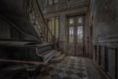 Verlaten Piano van