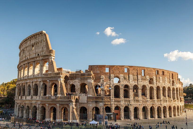 Het Colosseum in Italië. van Menno Schaefer