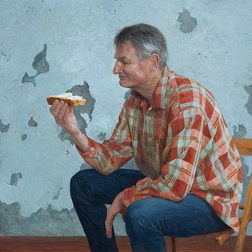 Pappa eet krentenbrood von Kim van den Enden