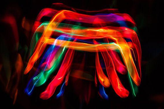 Lightpainting van Arjan Benders