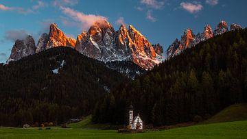 Kirche St. Johann - Villnöss - Trentino-Südtirol - Italien