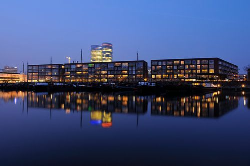 De Veilinghavenkade in Parkhaven in Utrecht von Donker Utrecht