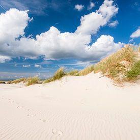 Voetstappen in het zand van Fotografie Egmond