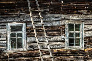 Verlassenes Holzhaus in Weißrussland