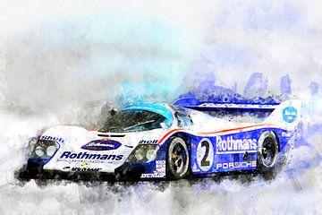 Porsche 956 Le Mans, Jochen Mass von Theodor Decker