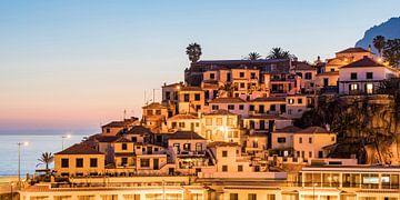 Altstadt von Câmara de Lobos auf der Insel Madeira von Werner Dieterich