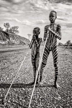 Stammenexpeditie Ethiopië van Fabienne Vansteenkiste