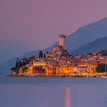 Malcesine, Gardameer, Italië van Henk Meijer Photography