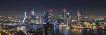 Der Blick auf die Skyline der Stadt von MS Fotografie | Marc van der Stelt