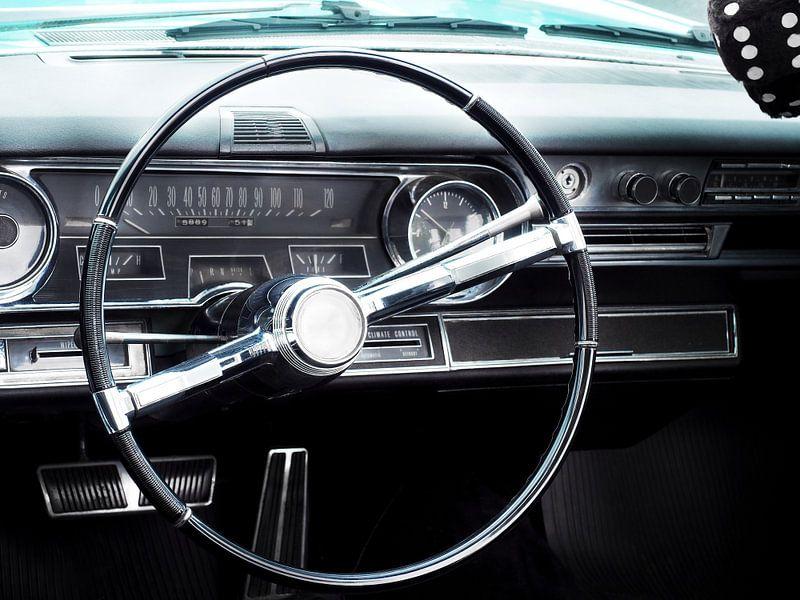 Voiture classique américaine 1965 Fleetwood Eldorado Cabriolet sur Beate Gube