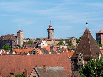Panorama über Nürnberg in Bayern von Animaflora PicsStock