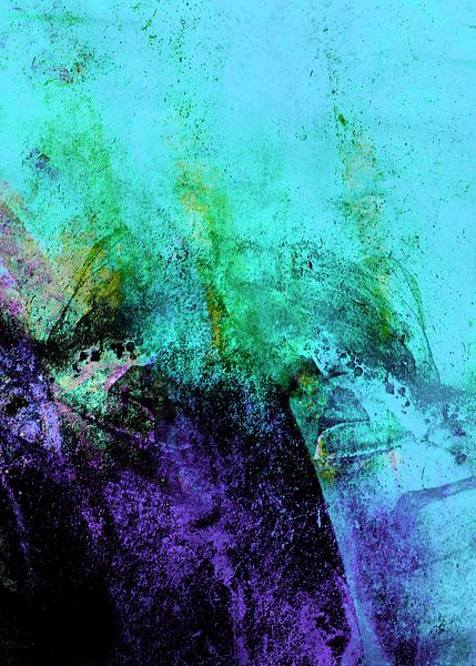 STORMY PURPLE VS BLACK v4 van Pia Schneider
