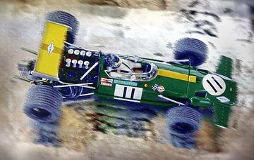Jacky Ickx & Brabham BT26 van DeVerviers
