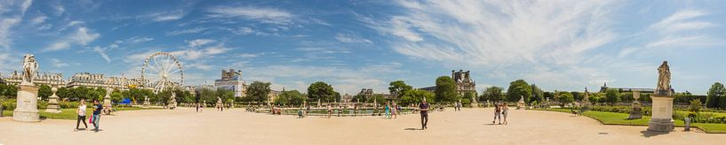 Jardin Tuileries panorama van Melvin Erné
