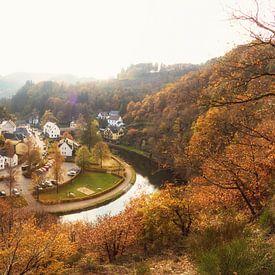 Esch-sur-Sûre im Herbst von Martijn Mureau
