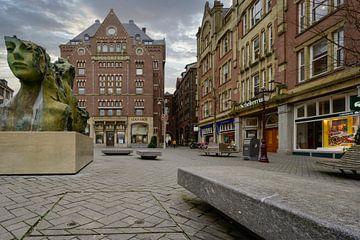 Rokin Amsterdam van Peter Bartelings Photography
