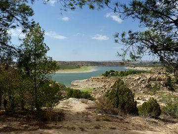 Ebro in Spanje von Piet van Winkel