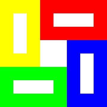 Permutatie | ID=08 | V=94 | Black+White Hole | P #01-WW van Gerhard Haberern