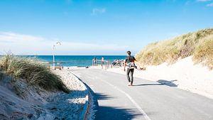 Der Surfer und sein Schatten