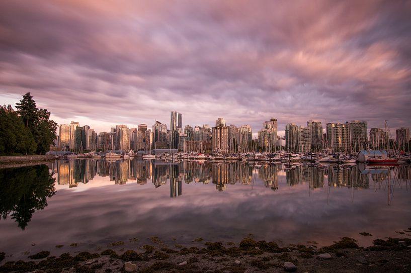 Vancouver Skyline van Ruben Van der Sanden