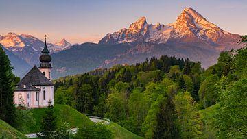 Maria Gern, Berchtesgaden, Bavaria, Germany van