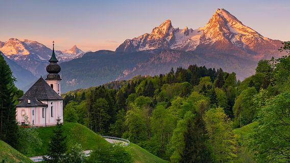 Maria Gern, Berchtesgaden, Bavaria, Germany