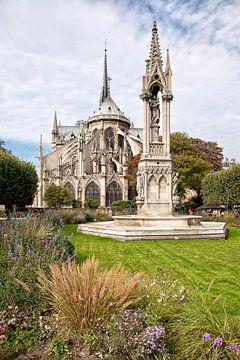 De Notre-Dame in Parijs, Frankrijk. van Arie Storm
