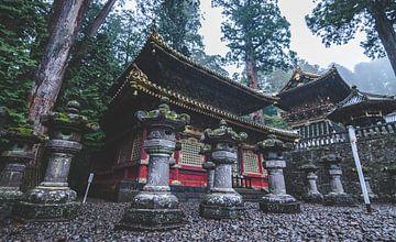 Le sanctuaire Tōshō-gū dans la ville de Nikko (Japon). sur Claudio Duarte