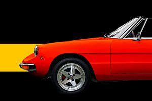 """Alfa Romeo Spider """"Coda Tronca"""" von aRi F. Huber"""