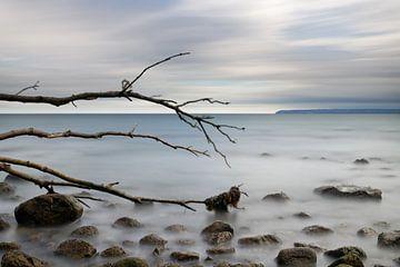 Natuurlijk strand aan de Oostzee
