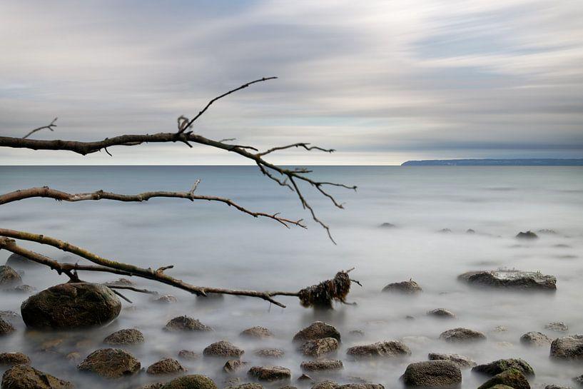Natuurlijk strand aan de Oostzee van Ralf Lehmann