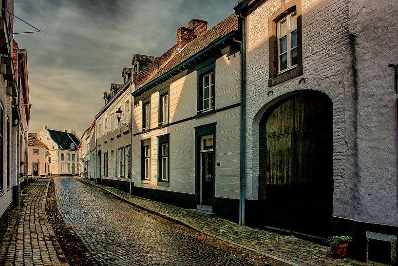 White Houses, Thorn, Limburg, The Netherlnds van Maarten Kost