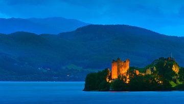 Schloss Urquhart, Schottland von Henk Meijer Photography
