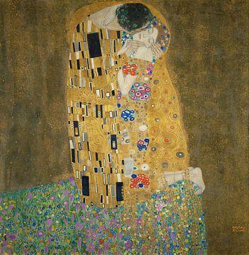 De Kus van Gustav Klimt van Rebel Ontwerp