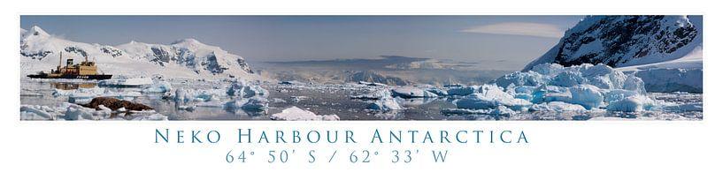 Antarctic Panorama van Roelie Turkstra