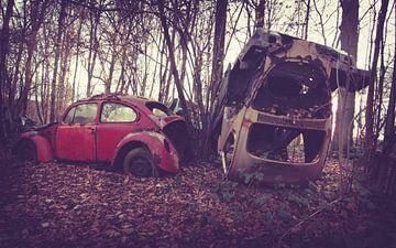 Verlassene Autos von Tamara de Koning