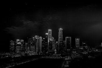 Singapore skyline sur Rens Roosloot