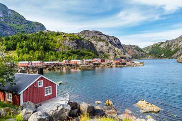 UNESCO-Welterbe Nusfjord Norwegen von Hilda Weges