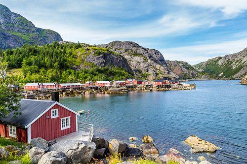UNESCO Wereld Erfgoed Nusfjord Noorwegen