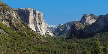 Tunnel View mit El Capitan und Half Dome, Yosemite-Nationalpark, Kalifornien, Vereinigte Staaten, US von Markus Lange