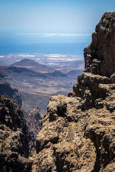 Gran Canaria view van Helga van de Kar