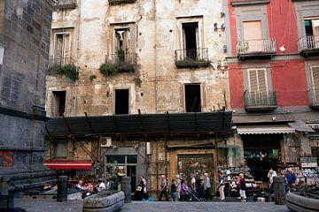 De oude binnenstad van Napels