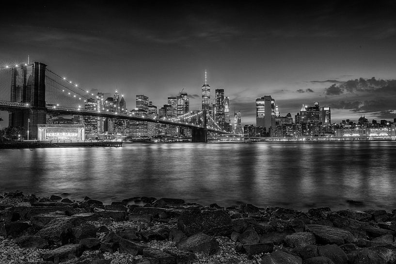 Brooklyn Bridge von Johan Bergsma